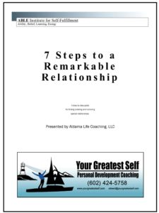 7 Steps to a Remarkable Relationship