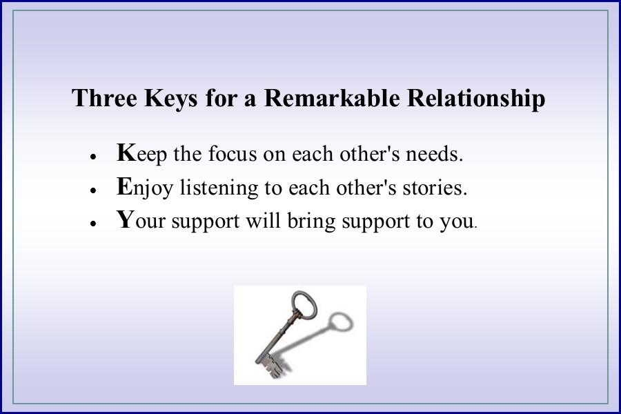 Relationship Keys